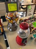 (2) Vintage Gumball Dispensers