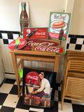 (7) Vintage Coca-Cola Signs