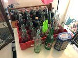 Asst. Vintage Coca-Cola Bottles