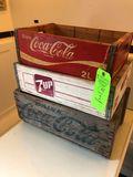 (3) Vintage Soda Caddies