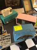 (4) Vintage Radios