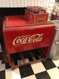 1939 Coca-Cola Salesman Ice Chest