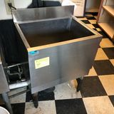 SS Supreme Metal 1-Bay Ice Sink