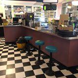 Malt Shop Counter Unit & Shelving