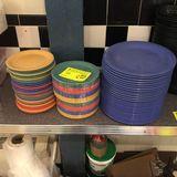 Asst. Carlisle Plastic Dinner Plates