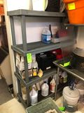 4-Tier HD Poly Shelving Unit