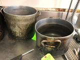 (2) Al. Stock Pots