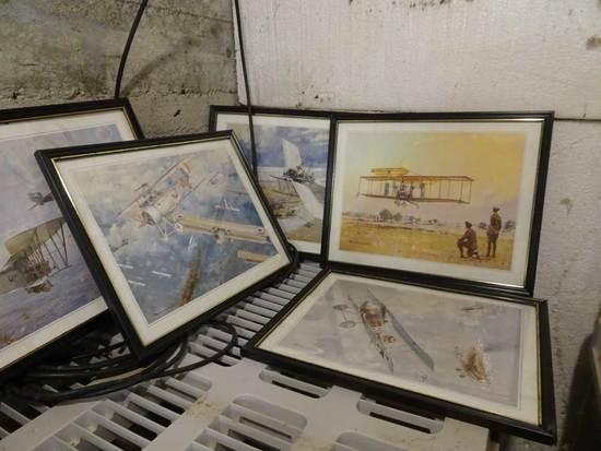 (21) Aviation  Prints, 11x14