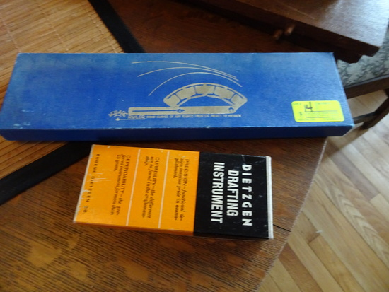 ACU-ARC Ruler; Draw Curves of any Radius, Hoyle Engineering Co.; Dietzgen D