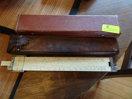 "Drafting Tools;  Cased ""Gerber Scientific Instrument Co. Hartford CT, Gerbe"