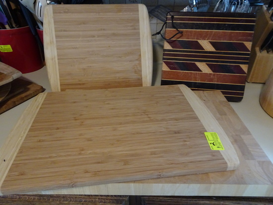Lot of 4 Cutting Boards