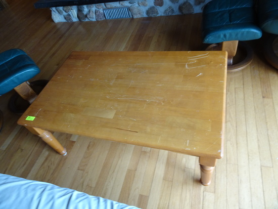 Coffee Table and Futon