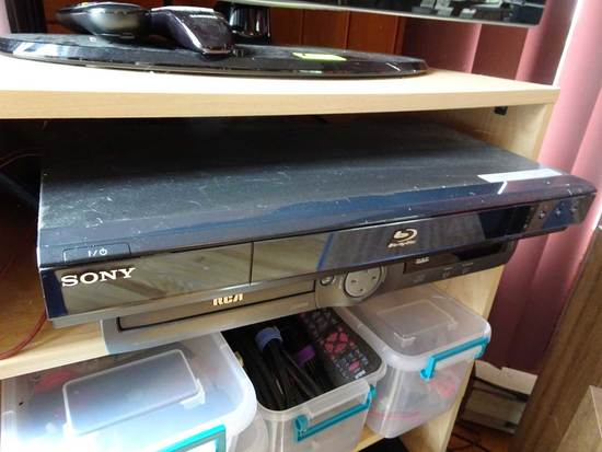 SONY Blue Ray Disc Player & RCA DVD/Disc Player