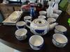 Japanese Saki & Sushi Pieces: Teapot w/8 cups; 3 Ceramic Saki Wine Sets, 2