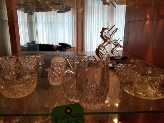 Asst. Crystal & Decorative Glassware