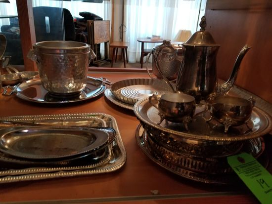 Asst. Silver Plated Ware