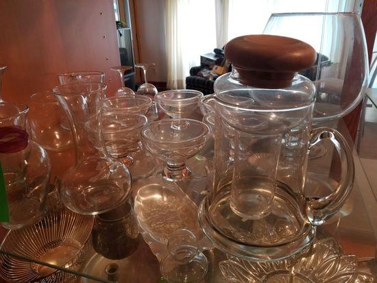 Asst. Glass Ware