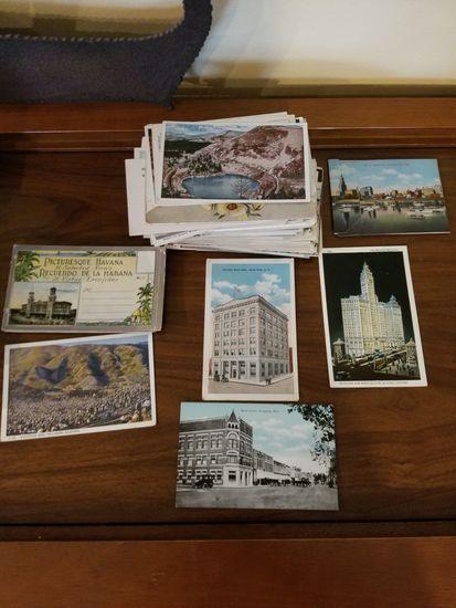(200+/-) Vintage Post Cards