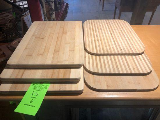 (3) Bread Boards & (3) Cheese Boards