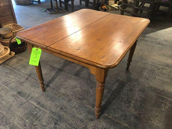 Circa 1890 Pine Dining Table