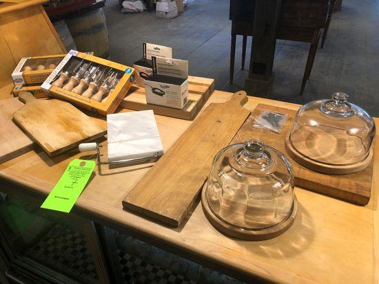 Asst. Cheese Service Items