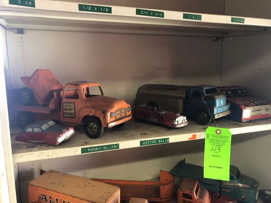 Vintage Children's Toy Trucks