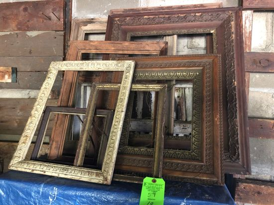 (10) Asst. Carved Picture Frames