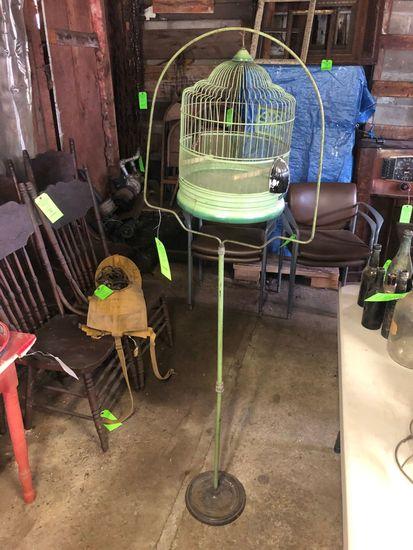 Victorian Bird Cage w/ Stand