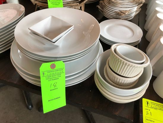 Asst. Porcelain & China Ware
