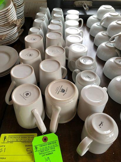(26) Asst. Coffee Mugs