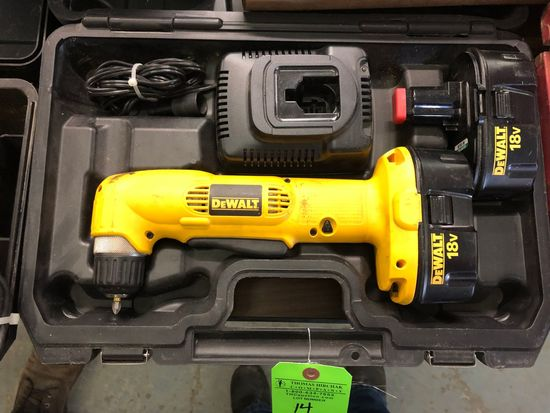 Dewalt 18v Right Angle Drill / Driver