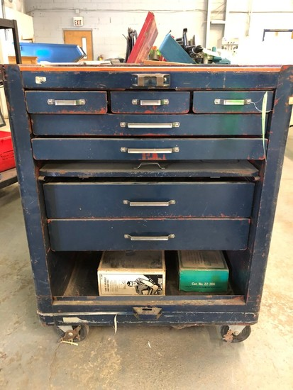 Steel 7-Drawer Rolling Work Cart