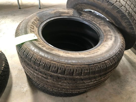 (2) Duraturn LT265/70R17 Tires