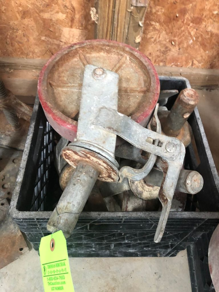 "(4) 8"" Scaffold Casters"