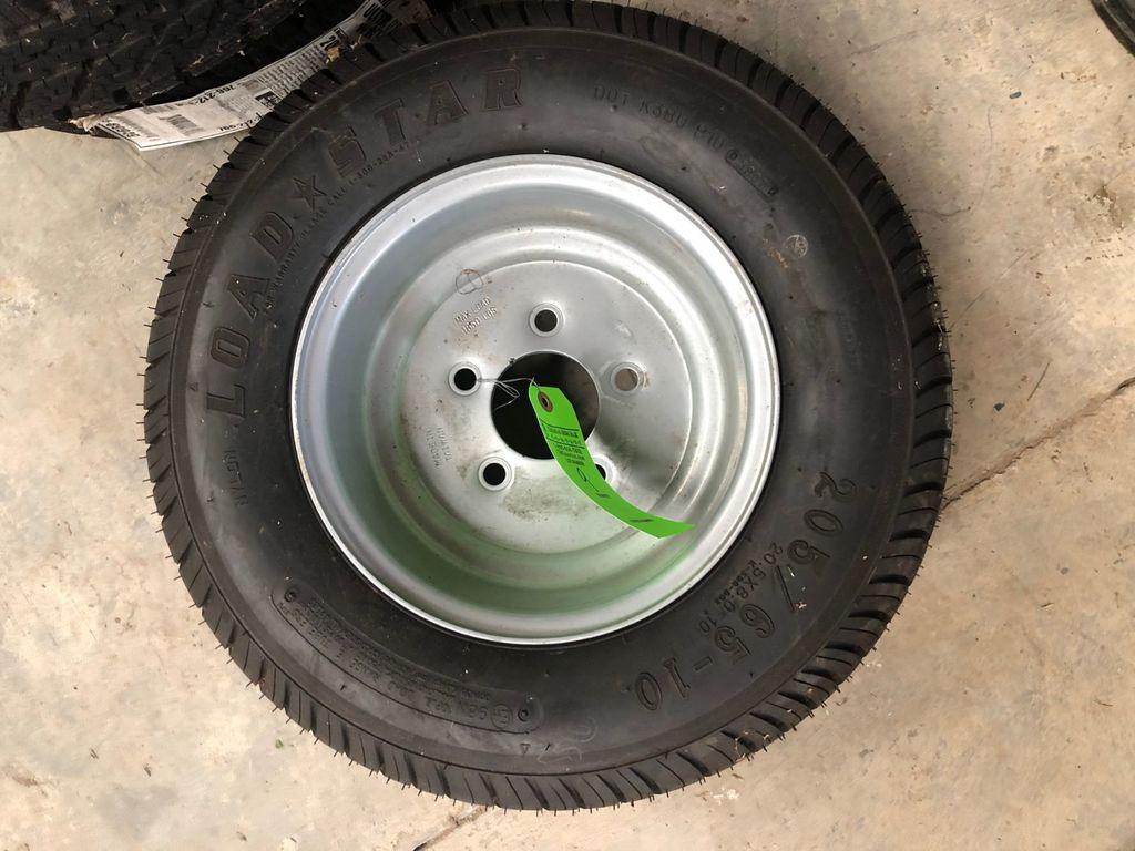 Loadstar 205/65-10 Tire On Rim