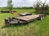 2007 Tow Master Tandem Axle Flatbed Trailer