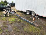 Tilting 16' Single Axle Boat Trailer