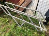 Set of Aluminum Stair Rails