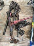 (4) Chain Binders & 6' Chain