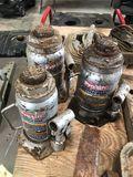 (3) Hydraulic Bottle Jacks