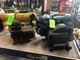 (2) Portable 4 Gallon Air Compressors