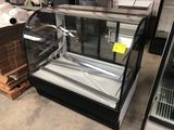 True Dry Curved Glass Deli Display Case