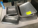 Asst SS Inserts & Wire Cooling Racks