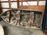 12' Semi-V Aluminum Boat