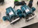 (2) Makita Plunge Router