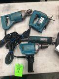 (4) Makita Power Tools