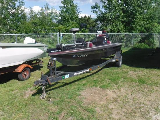 1996 Ranger Bass Boat
