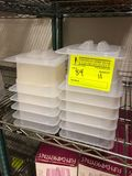 (11) Cambro Translucent Food Pans