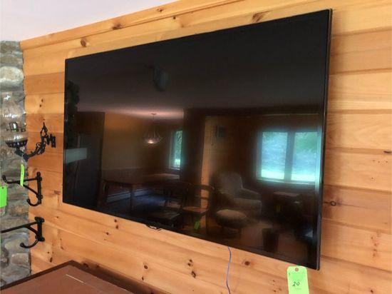 "Samsung 65"" Flat Screen TV w/ Wall Mount"
