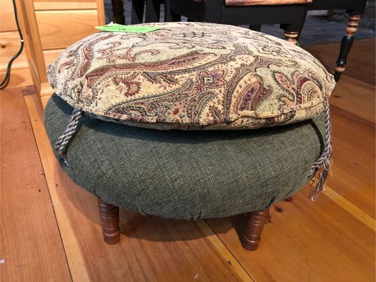 Highland House Upholstered Ottoman